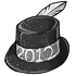 2012 New Years Hat