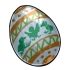 Blue Fanciful Egg