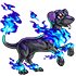 Blue Flame Doggo