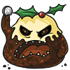 Christmas Pudding Monster