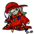Christmas Witch Doll