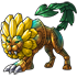 Gold Dande Lion