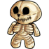 Cuddle me Skeleton Plush