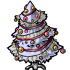 Dressed White Christmas Tree