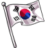 Flag of the Korean Republic
