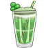 Green Cream Soda