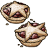 Holiday Cranberry Star Tarts
