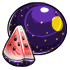 Moon And Star Watermelon