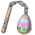 Painted Egg Flail