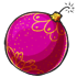 Pink Bauble Bomb