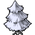 Plain White Christmas Tree