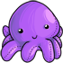 Purple Octopus Plushie