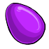 Eggspired Purple Easter Egg
