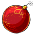 Red Bauble Bomb