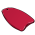 Red Boogie Board