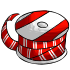 Spool of Red and White Ribbon