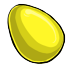Eggspired Yellow Easter Egg